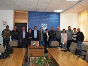 Prijem za goste u Vladi Županije Posavske